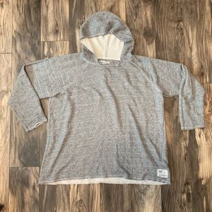 Life is Good womens size XL hoodie gray